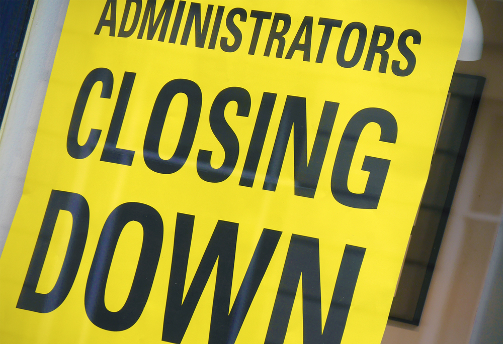 What does going into administration mean?